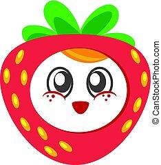 cute strawberry baby