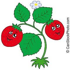 Cute strawberry