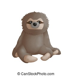Sloth Clipart and Stock Illustrations. 893 Sloth vector ...