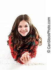 Cute Stylish Caucasian Tween - Cute, fun, and stylish...