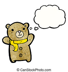 cute teddy bear cartoon