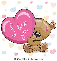 Bear with heart