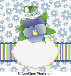 Cute template for Mother's Day postcard - Cute template for ...