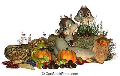 Thanksgiving Squirrels