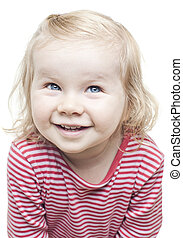 Cute Toddler giving a smile