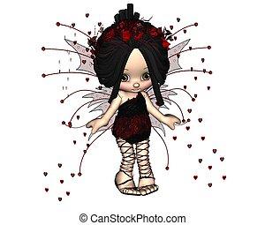 Cute Toon Valentine Fairy - 3