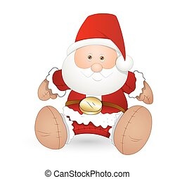 Cute Toy Santa Claus