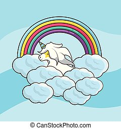 cute unicorn design