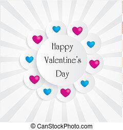 Cute valentine frame