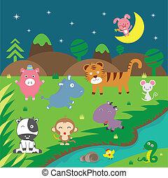 cute vector animals