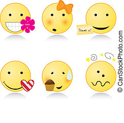cute with smile icons