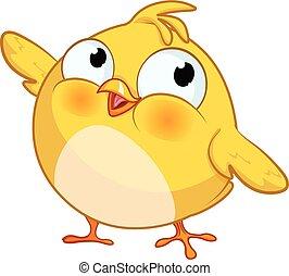 Cute Yellow Little Chick
