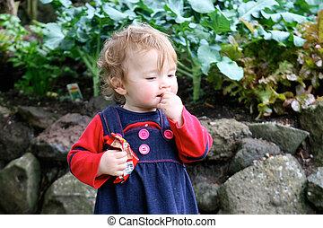 Cute young girl.