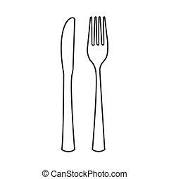 cutlery, ベクトル