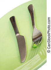 Cutlery and Pea