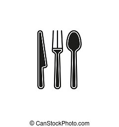 cutlery fork, knife and spoon