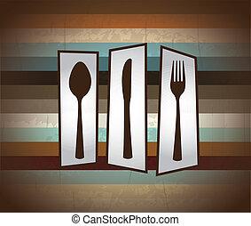 cutlery grunge