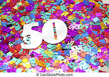 cutout letters and numbers