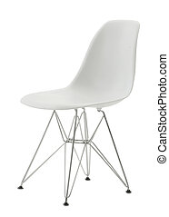 cutout modern chair