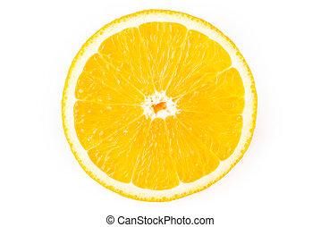 Cutout of a Lemon Slice