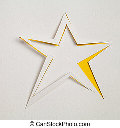 Cutout Star paperwork