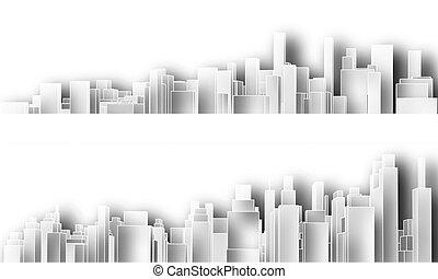 cutouts, město