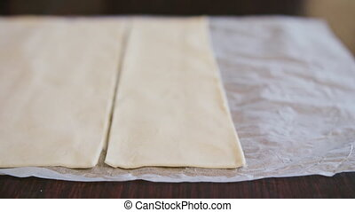 Cuts Dough for Baking Knife