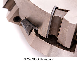 cutter for wood processing, macro photo cutters close
