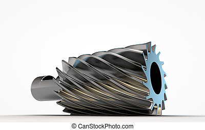 cutter isolated on white background