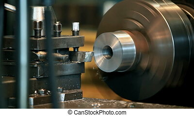 cutter - metal cutting on a lathe