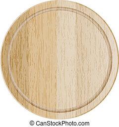 cutting board - Vector illustration of cutting board