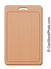 Cutting Board Wood Grip Upright
