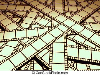 Film on cutting room floor
