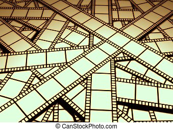 Cutting Room - Film on cutting room floor