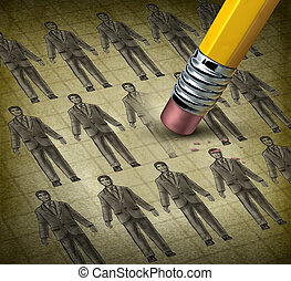 Cutting Staff - Cutting staff and employee job reduction...