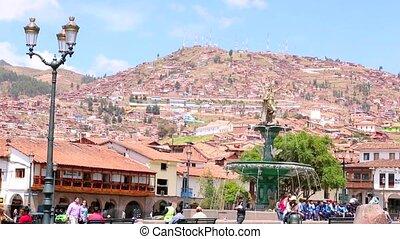Cuzco, Peru. UNESCO World Heritage Site.
