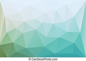 cyan, abstrakt, vektor, bakgrund