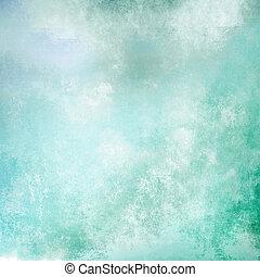 cyan, bakgrund, pastell