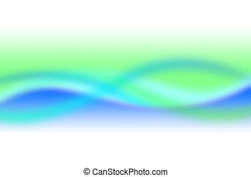 Cyan blur - Background soft