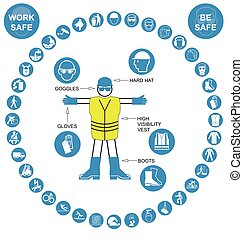 Cyan circular Health and Safety Ico - Cyan construction...
