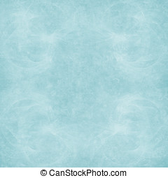 Cyan Grunge Abstract - Abstract Paper - Lightly distressed...