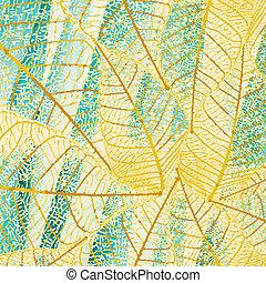 cyan leafs