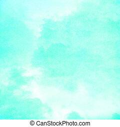 cyan, nuvola, fondo, struttura