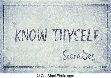 cyan, socrates, thyself, wiedzieć