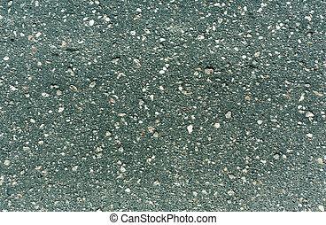 cyan, surface., asphalte