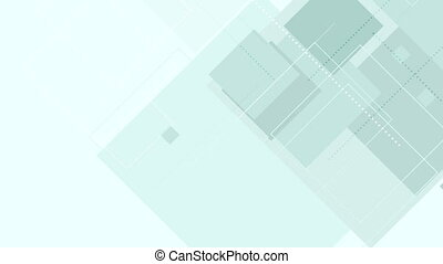 Cyan tech abstract geometric video animation - Cyan tech...