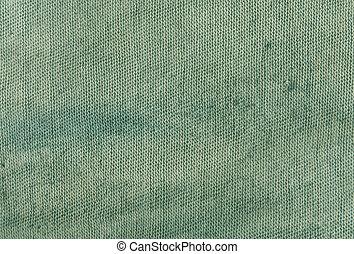 cyan, texture., tuch, dreckige