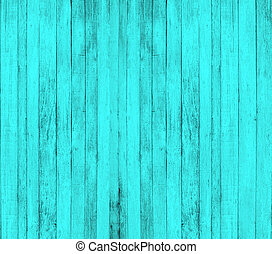 Cyan wood background