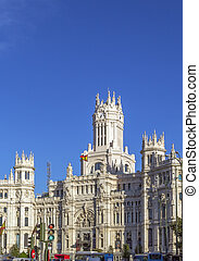 The Cybele Palace, formerly The Palace of Communication until 2011, is a palace located on the Plaza de Cibeles in Madrid, Spain.