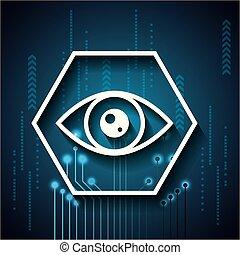 cyber, セキュリティー, デジタル